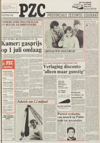Provinciale Zeeuwse Courant 1986-03-07