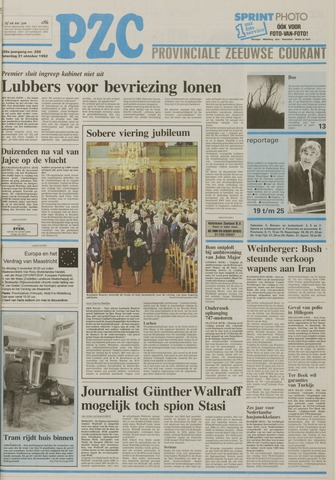 Provinciale Zeeuwse Courant 1992-10-31