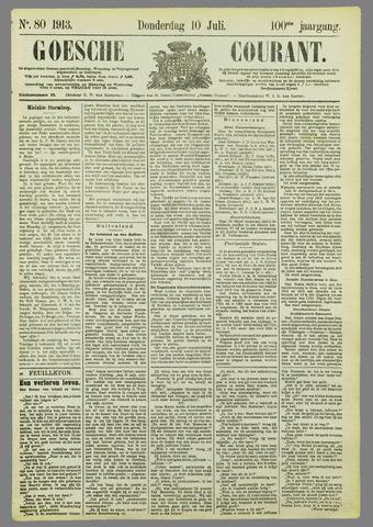 Goessche Courant 1913-07-10