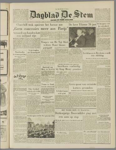 de Stem 1954-10-11