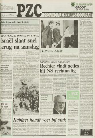 Provinciale Zeeuwse Courant 1983-11-05