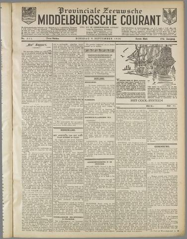 Middelburgsche Courant 1930-09-09