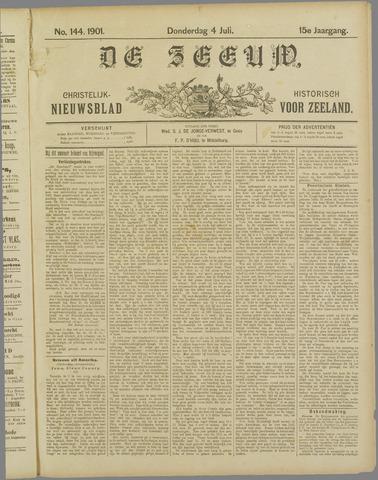 De Zeeuw. Christelijk-historisch nieuwsblad voor Zeeland 1901-07-04