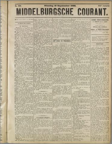 Middelburgsche Courant 1922-09-19