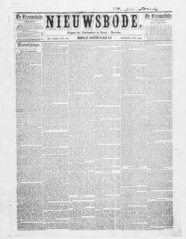 Sheboygan Nieuwsbode 1859-07-20