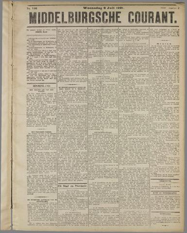 Middelburgsche Courant 1921-07-06