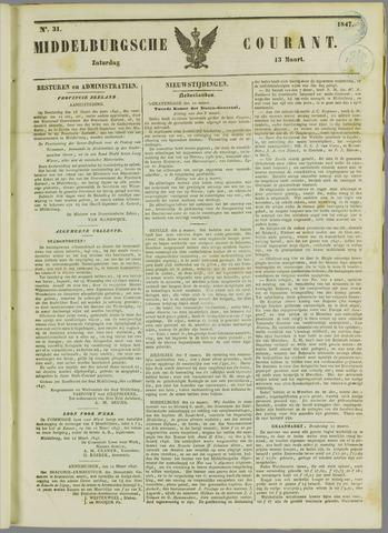 Middelburgsche Courant 1847-03-13