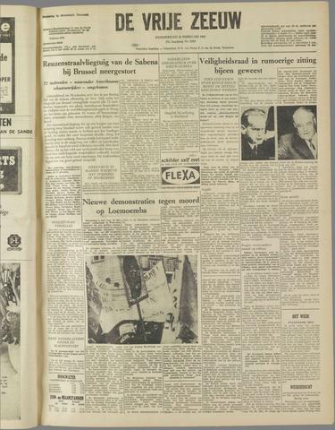 de Vrije Zeeuw 1961-02-16