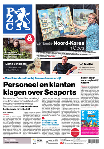 Provinciale Zeeuwse Courant 2017-08-12