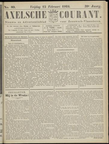 Axelsche Courant 1924-02-15