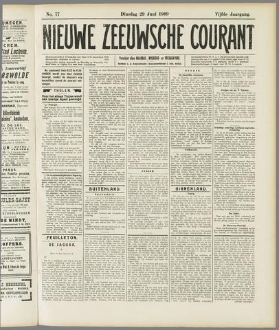Nieuwe Zeeuwsche Courant 1909-06-29