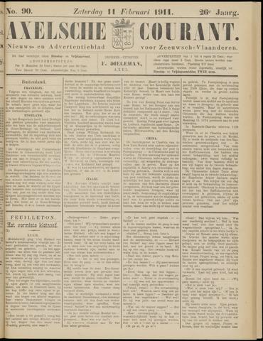 Axelsche Courant 1911-02-11