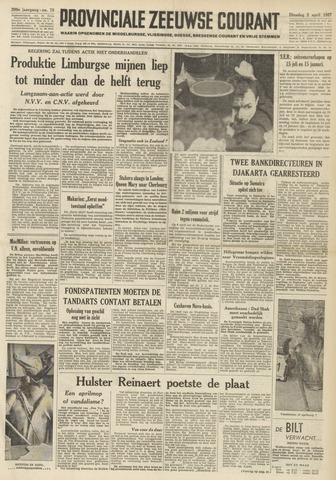 Provinciale Zeeuwse Courant 1957-04-02
