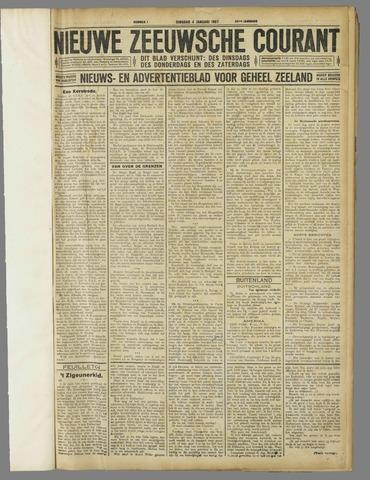 Nieuwe Zeeuwsche Courant 1927