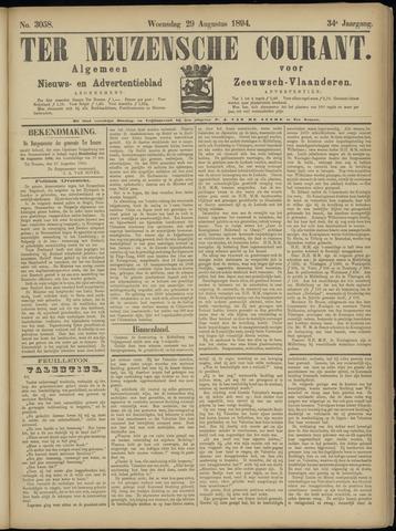 Ter Neuzensche Courant. Algemeen Nieuws- en Advertentieblad voor Zeeuwsch-Vlaanderen / Neuzensche Courant ... (idem) / (Algemeen) nieuws en advertentieblad voor Zeeuwsch-Vlaanderen 1894-08-29