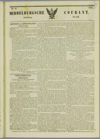 Middelburgsche Courant 1847-07-22