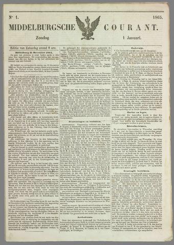 Middelburgsche Courant 1865-01-01