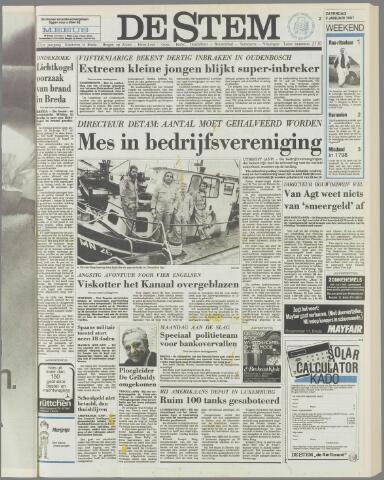 de Stem 1987-01-03
