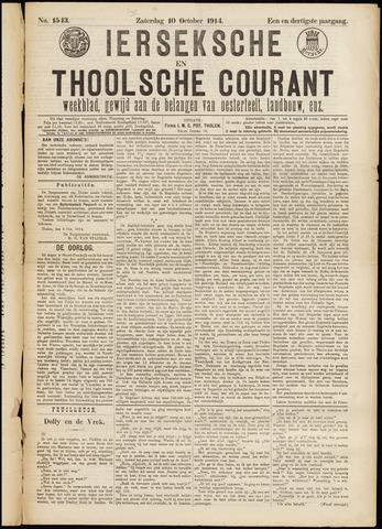 Ierseksche en Thoolsche Courant 1914-10-10