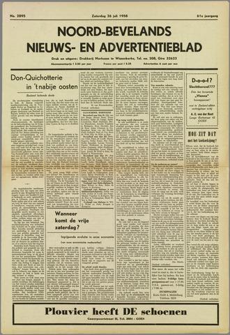 Noord-Bevelands Nieuws- en advertentieblad 1958-07-26