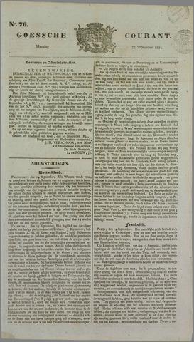 Goessche Courant 1834-09-22