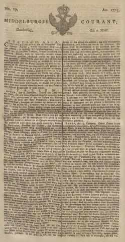 Middelburgsche Courant 1775-03-09
