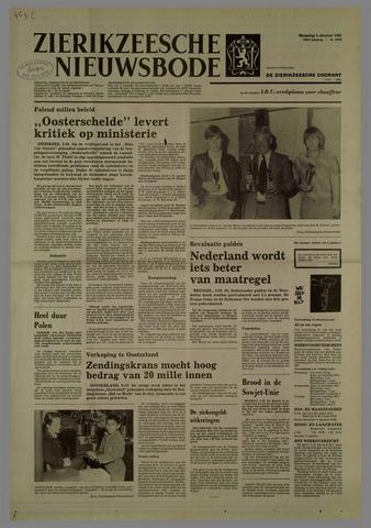 Zierikzeesche Nieuwsbode 1981-10-05