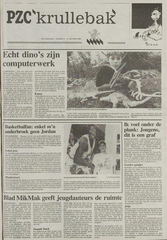 Provinciale Zeeuwse Courant katern Krullenbak (1981-1999) 1993-10-12