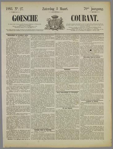 Goessche Courant 1883-03-03