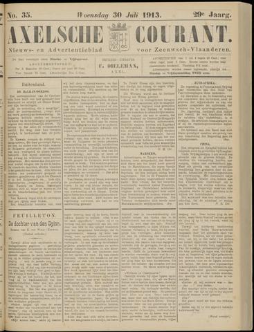 Axelsche Courant 1913-07-30
