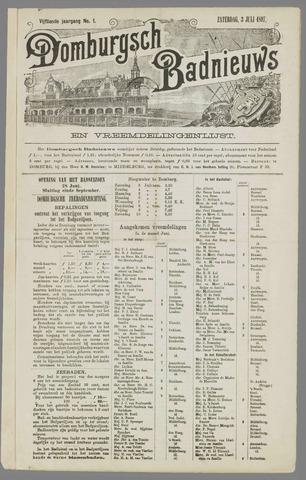 Domburgsch Badnieuws 1897