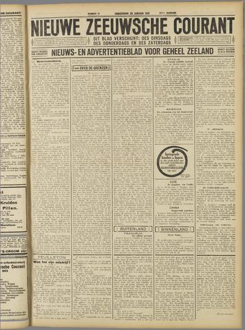 Nieuwe Zeeuwsche Courant 1931-01-29