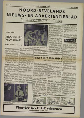 Noord-Bevelands Nieuws- en advertentieblad 1965-11-13