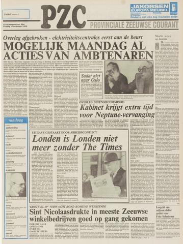 Provinciale Zeeuwse Courant 1978-12-01