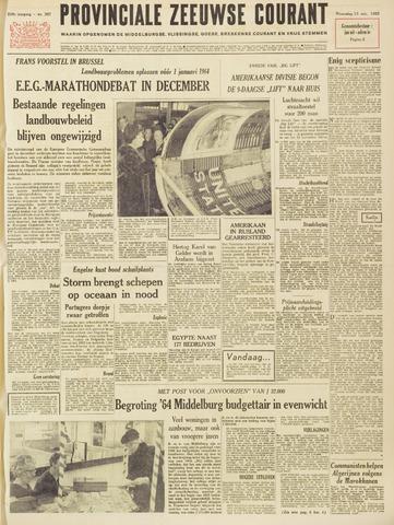 Provinciale Zeeuwse Courant 1963-11-13
