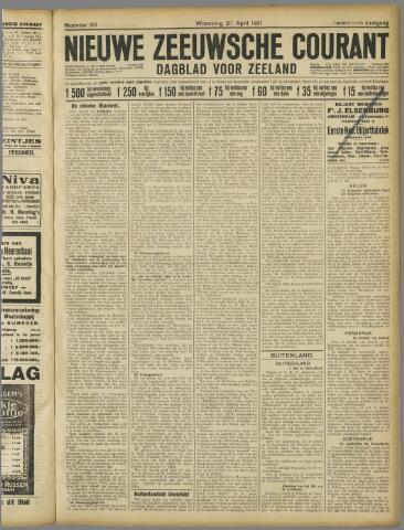 Nieuwe Zeeuwsche Courant 1921-04-20