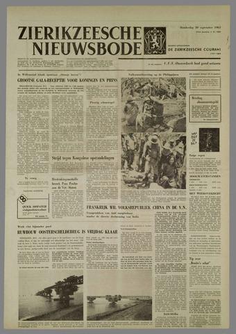 Zierikzeesche Nieuwsbode 1965-09-30