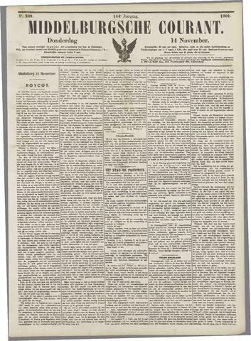 Middelburgsche Courant 1901-11-14