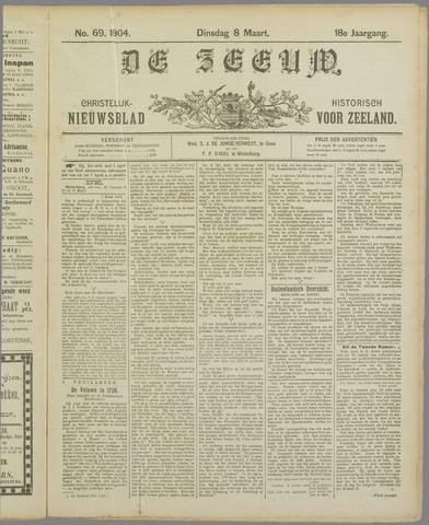 De Zeeuw. Christelijk-historisch nieuwsblad voor Zeeland 1904-03-08