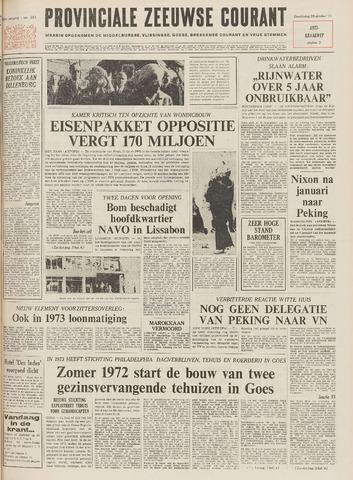 Provinciale Zeeuwse Courant 1971-10-28