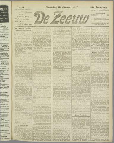 De Zeeuw. Christelijk-historisch nieuwsblad voor Zeeland 1917-01-15
