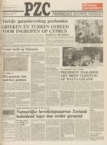 Provinciale Zeeuwse Courant 1974-07-17