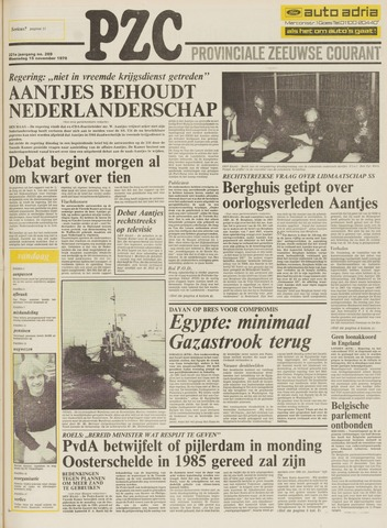 Provinciale Zeeuwse Courant 1978-11-15
