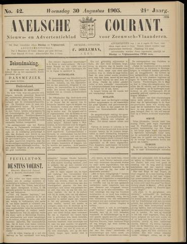 Axelsche Courant 1905-08-30