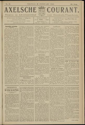 Axelsche Courant 1925-02-20