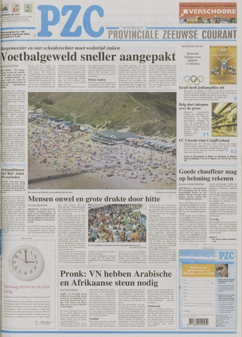 Provinciale Zeeuwse Courant 2004-08-09