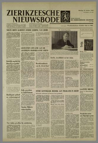 Zierikzeesche Nieuwsbode 1963-10-21