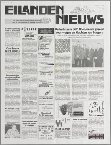 Eilanden-nieuws. Christelijk streekblad op gereformeerde grondslag 2004-04-16