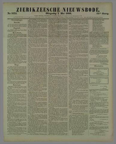 Zierikzeesche Nieuwsbode 1888-05-01