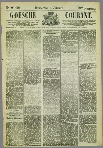 Goessche Courant 1912-01-04